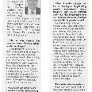 Offenbach Post – Februar 2008